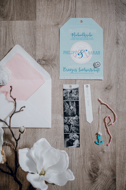 Hochzeitseinladung, Hochzeitspapeterie