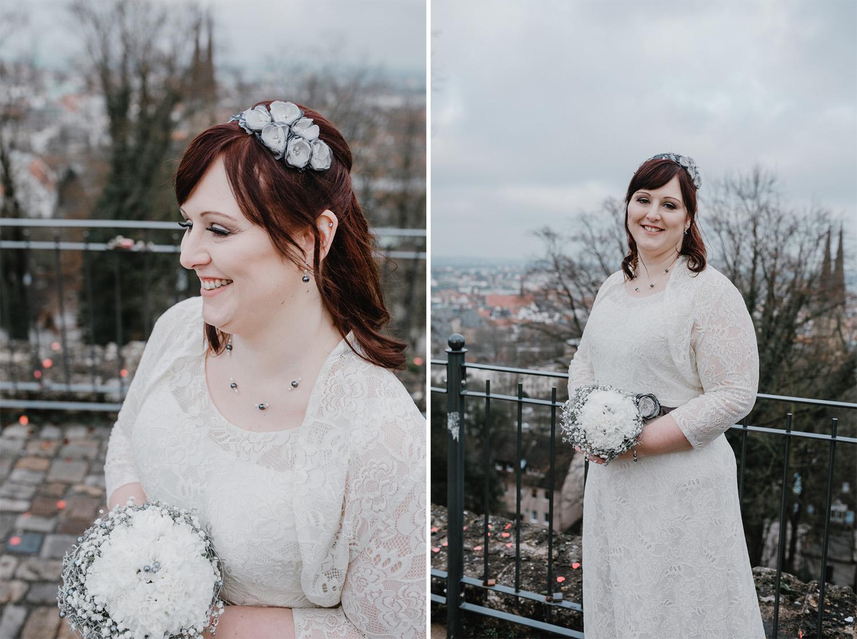 natürliche Brautpaarportraits