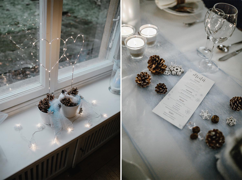 Winter Hochzeit in Bielefeld