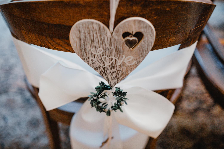 Dekoration Winter Hochzeit