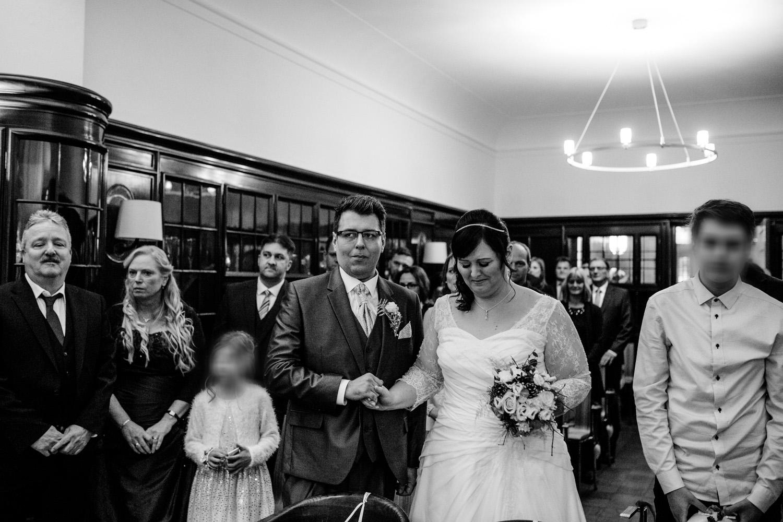 schwarz weiß Hochzeitsreportage