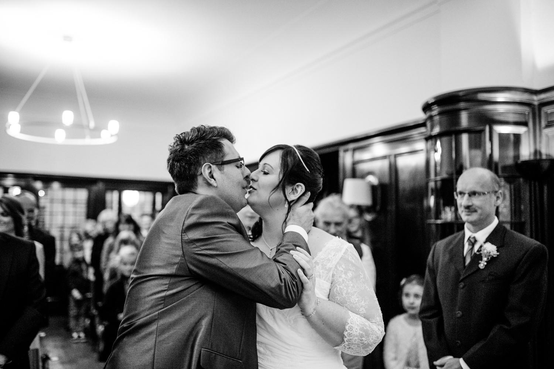 Erster Kuss Freie Trauung