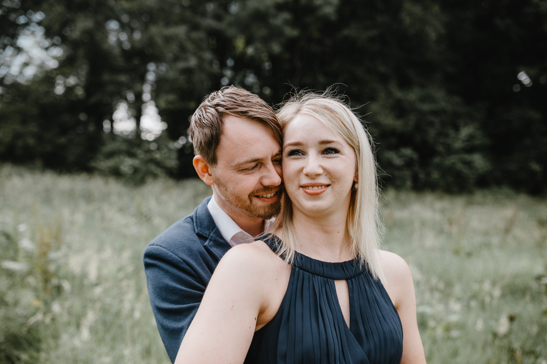 Verliebtes Paar in Detmold